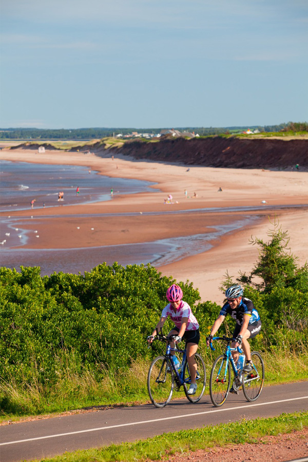 Cycling on PEI